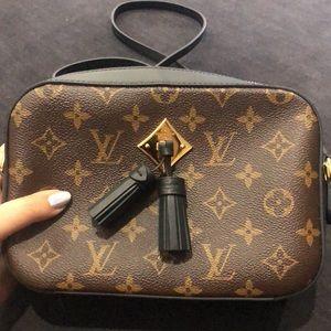 Louis Vuitton Saintonge Crossbody Purse